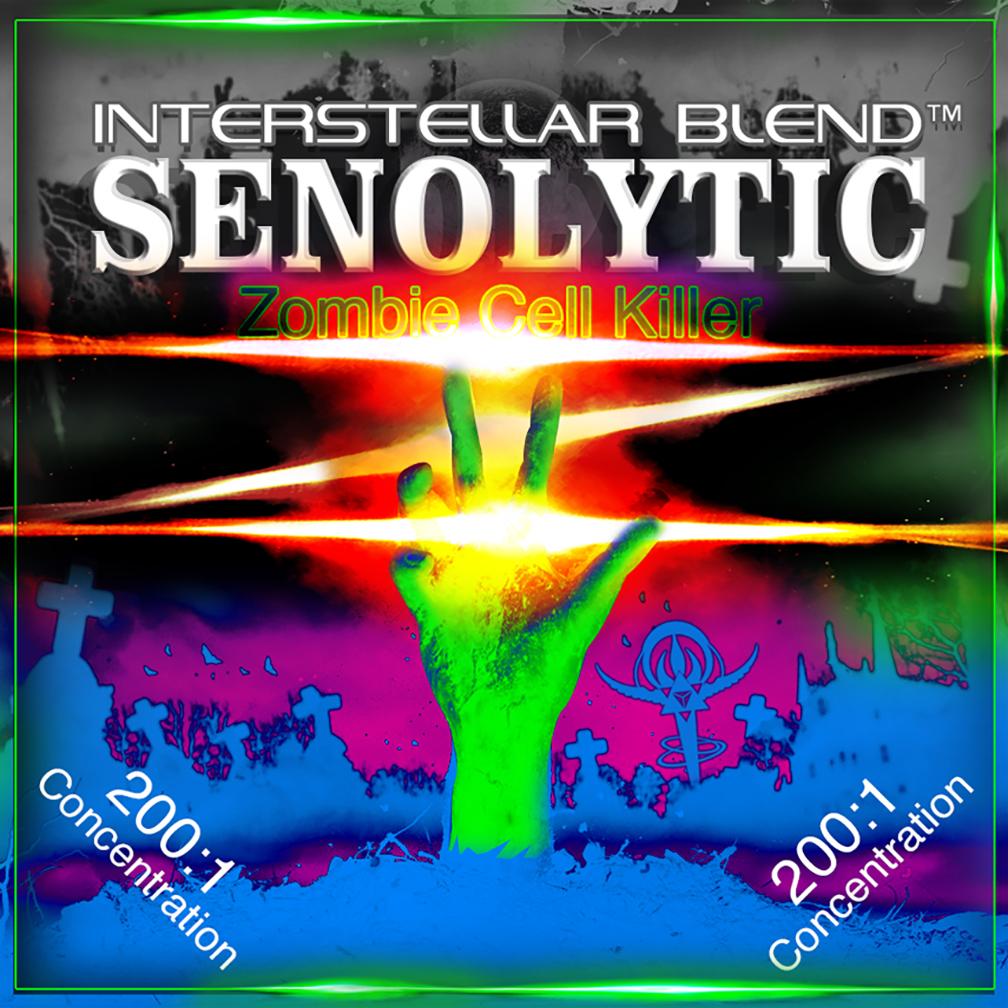 Interstellar Blend Senolytic Zombie Senescent Cell Killer